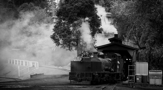 """In """"Toller Dampf voraus"""" verlegt Pratchett die Erfindung der Eisenbahn ins Fantastische."""